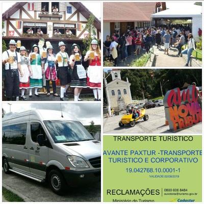 Aluguel de Vans em Nova Friburgo - Avante Paxtur
